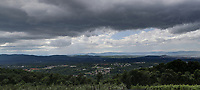 Storm clouds over Charlottesville Virginia as seen from Carters Mountain. Photo/Andrew Shurtleff Photography, LLC