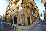 Valetta in Malta.  Valletta, Malta's capital, is a UNESCO World Heritage Site, a city of Baroque architecture left by the Knights of St. John five centuries ago.