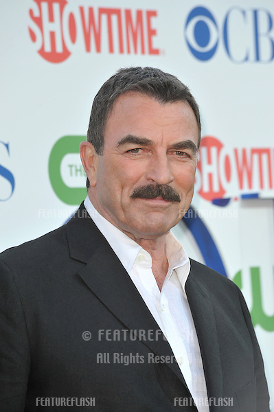 "Tom Selleck - star of ""Blue Bloods"" - at CBS TV Summer Press Tour Party in Beverly Hills. .July 28, 2010  Los Angeles, CA.Picture: Paul Smith / Featureflash"