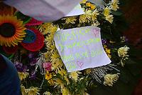 SÃO PAULO,SP - 27.06.2016 - CRIME-SP - Amigos e familiares durante o velório e o enterro de Waldik Gabriel Silva Chagas, no Cemitério Municipal da Vila Formosa, Zona Leste de Sao Paulo, na tarde desta segunda-feira, 27. Waldik,de 11 anos, morto  por agentes da GCM (Guarda Cível Metropolitana) na manhã do ultimo domingo 26 em Guaianases. Um dos guardas presos foi presoi em flagrante, ma sliberado após pagamento de fiança. (Foto: Eduardo Carmim/Brazil Photo Press/Folhapress)
