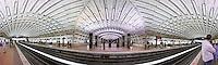 Metro Center subway station in Washington DC