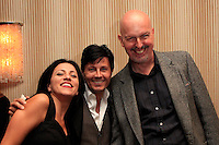 """BEVERLY HILLS - OCT 19: Jennifer Tash, Ivan Amodei, Chris Philpott at the """"Intimate Illusions"""" headliner Ivan Amodei's 400th show celebration at the Beverly Wilshire Hotel on October 19, 2013 in Beverly Hills, California"""