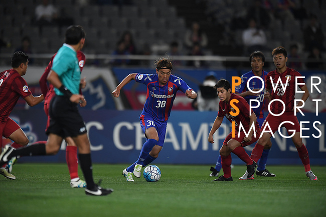FC TOKYO (JPN) vs SHANGHAI SIPG (CHN) during their AFC Champions League Round of 16 match on 17 May 2016 held at the Tokyo Stadium, in Tokyo, Japan. Photo by Stringer / Lagardere Sports