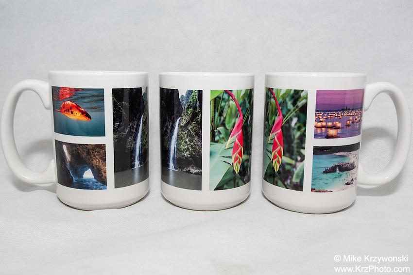 15 oz. Mug  - Hawaii Multi Large - $25 + $6 shipping.<br /> Contact me to order.