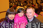 Family night out for Laura, Kiera and Kieran O'Riordan from Abbeyfeale at 'The Children Need You Concert' held last Saturday in The Devon Inn, Templeglantine.