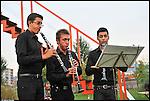 Triplo Concerto al Parco Arte Vivente in occasione di Mito Fringe 2011. Gli Ebony Trio