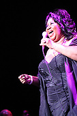 Aretha Franklin performing at 2005 American Music Masters honoring Sam Cooke<br /> Photo Credit: Janet Macoska/Atlas Icons