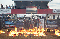 Arena during the American Bucking Bull, Incorporated event in Decatur, TX - 6.4.2016. Photo by Christopher Thompson
