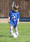 Coach Ken Soccer, 4-5 year olds at Heritage Oaks Park in Los Altos, March 7, 2015