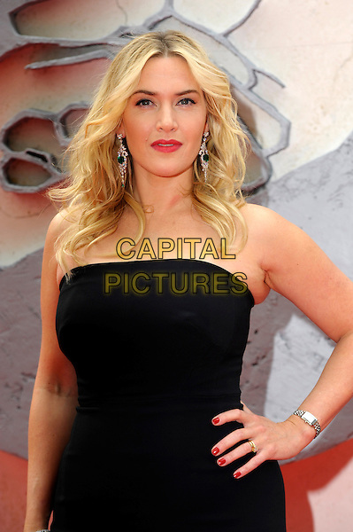 LONDON, ENGLAND - MARCH 30: Kate Winslet attends the European premiere of 'Divergent' at Odeon Leicester Square on March 30, 2014 in London, England. <br /> CAP/CJ<br /> &copy;Chris Joseph/Capital Pictures