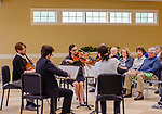 WOODBURY, CT. 06 May 2018-050618BS10 - The Have String Quartet play a concert at the Woodbury Senior/Community Center on Sunday afternoon. Bill Shettle Republican-American