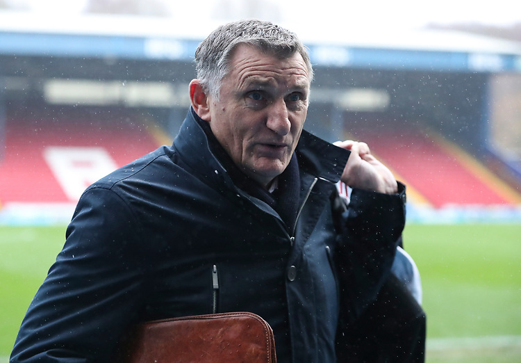 Blackburn Rovers manager Tony Mowbray <br /> <br /> Photographer Rachel Holborn/CameraSport<br /> <br /> The EFL Sky Bet Championship - Blackburn Rovers v Sheffield Wednesday - Saturday 1st December 2018 - Ewood Park - Blackburn<br /> <br /> World Copyright &copy; 2018 CameraSport. All rights reserved. 43 Linden Ave. Countesthorpe. Leicester. England. LE8 5PG - Tel: +44 (0) 116 277 4147 - admin@camerasport.com - www.camerasport.com