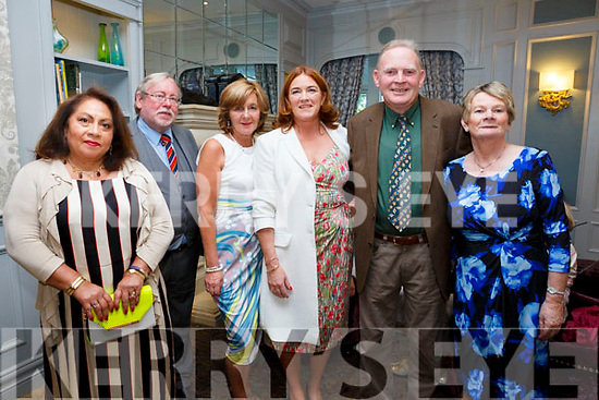 At the Fine Gael celebration in honour of Jimmy Deenihan in The Rose Hotel on Friday were Juanita Giles, David Giles, Ann Condon, Grace O'Donnell,Denis Hegarty and Margaret Hegarty