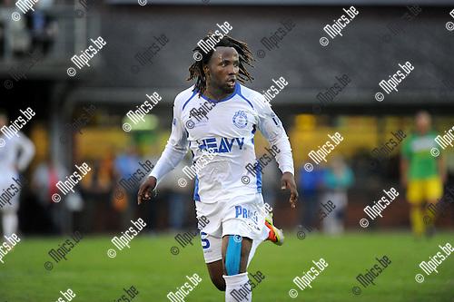 2013-08-17 / Voetbal / seizoen 2013-2014 / Merksem / Enoch Oteng<br /><br />Foto: Mpics.be