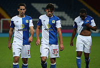Blackburn Rovers' Peter Whittingham, Lewis Travis<br /> <br /> Photographer Rachel Holborn/CameraSport<br /> <br /> EFL Checkatrade Trophy - Northern Section Group C - Blackburn Rovers v Bury - Tuesday 3rd October 2017 - Ewood Park - Blackburn<br />  <br /> World Copyright &copy; 2018 CameraSport. All rights reserved. 43 Linden Ave. Countesthorpe. Leicester. England. LE8 5PG - Tel: +44 (0) 116 277 4147 - admin@camerasport.com - www.camerasport.com