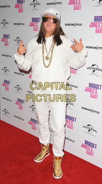 Honey G ( Anna Georgette Gilford ) at the &quot;Bridget Jones's Baby&quot; special film screening to celebrate the UK dvd release, Charlotte Street Hotel, Charlotte Street, London, England, UK, on Tuesday 31 January 2017.<br /> CAP/CAN<br /> &copy;CAN/Capital Pictures