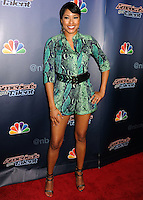 NEW YORK CITY, NY, USA - AUGUST 27: Alicia Quarles arrives at the 'America's Got Talent' Post-Show Red Carpet held at Radio City Music Hall on August 27, 2014 in New York City, New York, United States. (Photo by Celebrity Monitor)