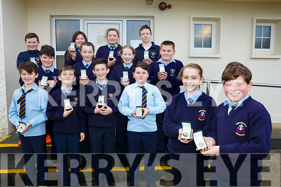 Killury NS 4th/5th/6th class won high achiever award at Royal Irish Academy performing a poem called I've seen mrs nugent's knickers by Paul Cookson Pictured front l-r Abby Mulvihill and Dylan Legg Back l-r Adam Egan, Kieran Sheehan, Dean McElligott, Jack O'Mahony, Jack O'Hara, Shauna McElligott, Emma Dillane, Paddy Walsh, Jack Diggins, Alicia Legg, Aisling Sayers and Cillan Quillter