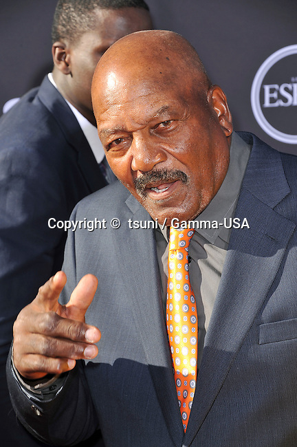 Jim Brown  at the ESPY 2013 Awards at the Nokia Theatre In Los Angeles.