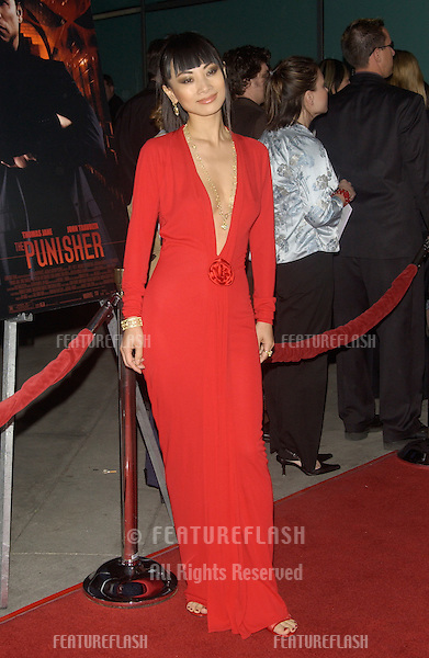 Actress BAI LING at the Los Angeles premiere of The Punisher..April 12, 2004
