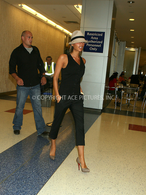 WWW.ACEPIXS.COM................September 8 2006, New York City....Former Spice Girl and fashion icon Victoria Beckham arrives in New York City to attend New York Fashion Week.......Please byline: PHILIP VAUGHAN/ACEPIXS.COM....For information please contact Philip Vaughan:..tel: 212 243 8787 or 646 769 0430..e-mail: info@acepixs.com..website: www.acepixs.com......