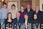 Dan Clifford Cromane celebrates his 70th birthday with his family in the Beaufort Bar, Beaufort on Friday night with his family front row l-r: Emer, Dan, Hannah Clifford, Tina Moore. Back row Colm O'Dwyer, Bridget Devane, Rose O'Sullivan, Con O'Sullivan and Rose Falvey   Copyright Kerry's Eye 2008