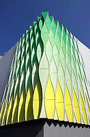 Nederland  Groningen - 2019 . UMC Groningen. Research laboratorium. Het gebouw is ontworpen door UNStudio.   Foto Berlinda van Dam / Hollandse Hoogte