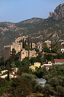 Zypern (Nord), gotische Abtei Bellapais bei Girne, erbaut 1205