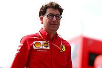 Mattia Binotto Team Principal Scuderia Ferrari, Italian GP, Monza 5-8 September 2019<br /> Monza 05/09/2019 GP Italia <br /> Formula 1 Championship 2019 <br /> Foto Federico Basile / Insidefoto