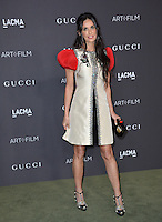 LOS ANGELES, CA. October 29, 2016: Actress Demi Moore at the 2016 LACMA Art+Film Gala at the Los Angeles County Museum of Art.<br /> Picture: Paul Smith/Featureflash/SilverHub 0208 004 5359/ 07711 972644 Editors@silverhubmedia.com