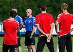 Nederland, Utrecht, 30 juni 2012.Seizoen 2012-2013.Eerste training FC Utrecht.Jan Wouters, trainer-coach van FC Utrecht.