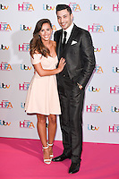 Georgia May Foote and Giovanni Pernice<br /> attends the 2016 Lorraine High Street Fashion Awards held at the Grand Connaught Rooms, Holborn, London.<br /> <br /> <br /> ©Ash Knotek  D3119  17/05/2016