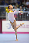 The Womens European Championships 9.5.12.Junior Qualifications. Brussels Expo AtomiumThe Womens European Championships 9.5.12.Junior Qualifications. Brussels Expo Atomium.  STANILA Alina of Romania