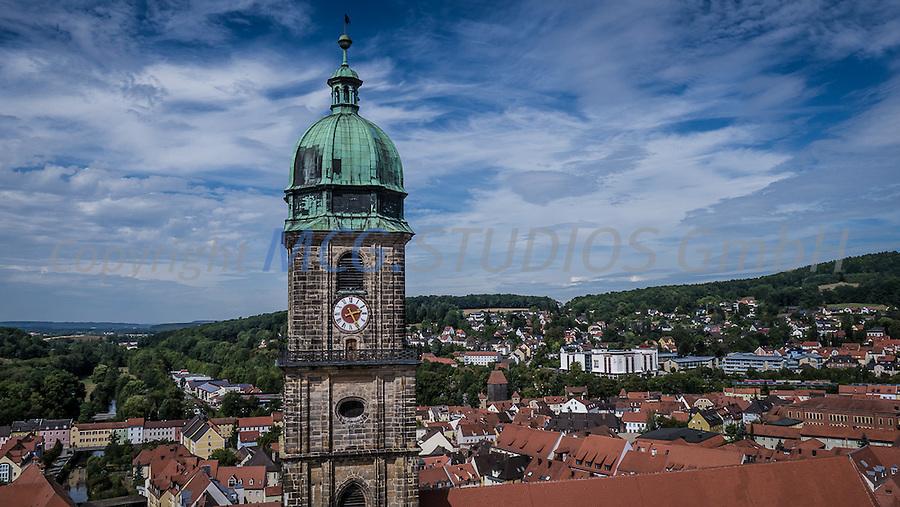 Turm der Martinskirche in Amberg