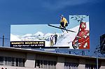 Mammoth Mountain Inn billboard in Los Angeles, CA