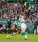 29.12.2019 Celtic v Rangers: Scott Brown and Alfredo Morelos