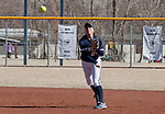 March 7, 2012:   Nevada Wolf Pack shortstop Karley Hopkins throws to first against the Sacramento State Hornets during their NCAA softball game played at Christina M. Hixson Softball Park on Wednesday in Reno, Nevada.