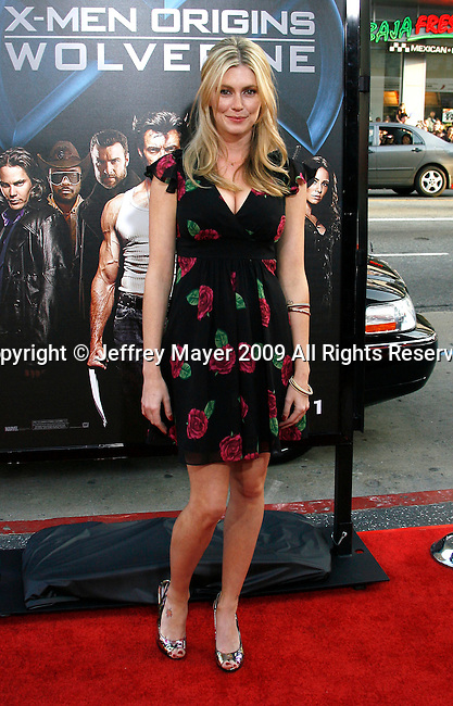 """HOLLYWOOD, CA. - April 28: Diora Baird arrives at """"X-Men Origins: Wolverine"""" Los Angeles Industry Screening at Grauman's Chinese Theatre on April 28, 2009 in Los Angeles, California."""