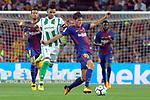 League Santander 2017/2018. Game: 01.<br /> FC Barcelona vs Real Betis: 2-0.<br /> Nahuel vs Sergi Roberto.