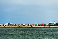 Sandy Neck Lighthouse, Barnstable, Cape Cod, Massachusetts, USA.