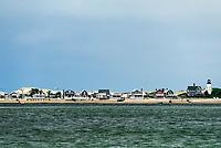 Sandy Neck Lighthouse, Barnstable, Cape Cod, Massachusetts, USA.