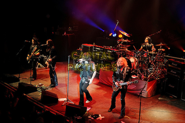 LONDON, ENGLAND - MARCH 20: Black Star Riders performing at Shepherd's Bush Empire on March 20, 2015 in London, England.<br /> CAP/MAR<br /> &copy; Martin Harris/Capital Pictures
