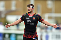 James Benjamin of the Dragons. Pre-season friendly match, between Ealing Trailfinders and the Dragons on August 11, 2018 at the Trailfinders Sports Ground in London, England. Photo by: Patrick Khachfe / Onside Images