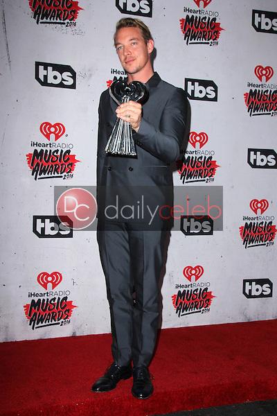 Diplo<br /> at the iHeart Radio Music Awards 2016 Press Room, The Forum, Inglewood, CA 04-03-16<br /> David Edwards/DailyCeleb.com 818-249-4998