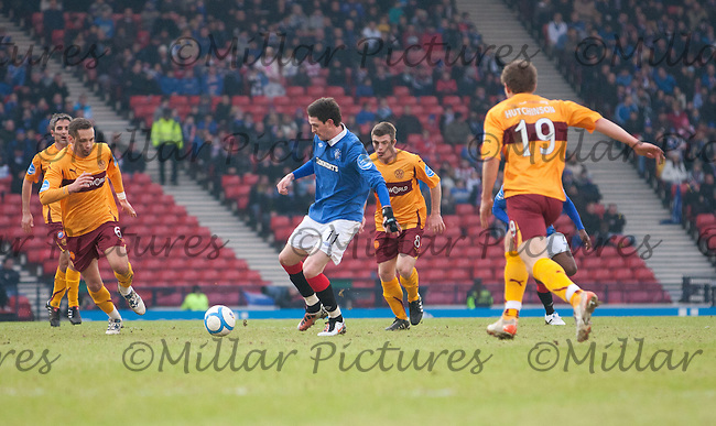 Kyle Lafferty surrounded