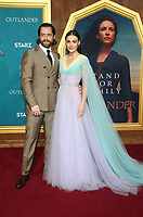 "HOLLYWOOD, CA - FEBRUARY 13: Richard Rankin, Sophie Skelton, at the Premiere Of Starz's ""Outlander"" Season 5 at HHollywood Palladium in Hollywood California on February 13, 2020. Credit: Faye Sadou/MediaPunch"