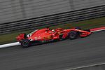 14.04.2018, Shanghai Audi International Circuit, Shanghai, 2018 FORMULA 1 HEINEKEN CHINESE GRAND PRIX, 12.04. - 15.04.2018<br /> im Bild<br />Sebastian Vettel (GER#5), Scuderia Ferrari<br /> <br /><br /> <br /> Foto &copy; nordphoto / Bratic