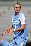 07 September 2012: UNC's Hanna Gardner. The University of North Carolina Tar Heels defeated the Marquette University Golden Eagles 4-0 at Koskinen Stadium in Durham, North Carolina in a 2012 NCAA Division I Women's Soccer game.