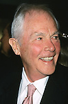 "Harry Conick Sr. pictured at the opening night of ""Though Shalt Not"" at Plymouth Theater in New York City on October 26, 2001."