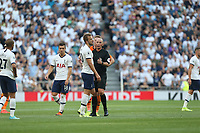 Harry Kane of Tottenham Hotspur appeals for a paenalty during Tottenham Hotspur vs Newcastle United, Premier League Football at Tottenham Hotspur Stadium on 25th August 2019